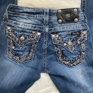 Miss Me Boot Cut Jeans Size 24